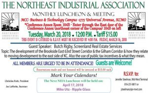 March Luncheon Announcement